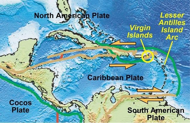 mapeo fondo mar del Caribe