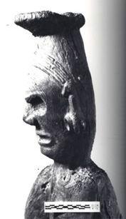 cabeza del Cemí Opiyelguobirán