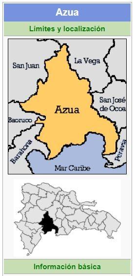 localizacion de la provincia azua