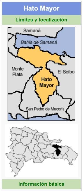 localizacion de la provincia hato mayor