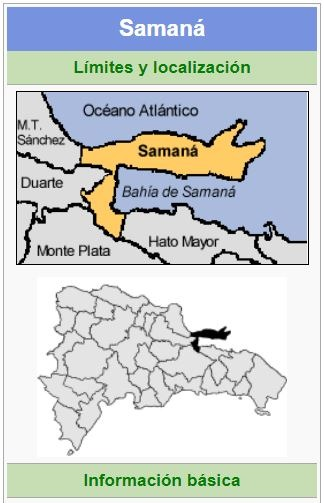localizacion de la provincia samana