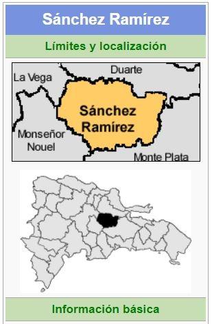 localizacion de la provincia sanchez ramirez