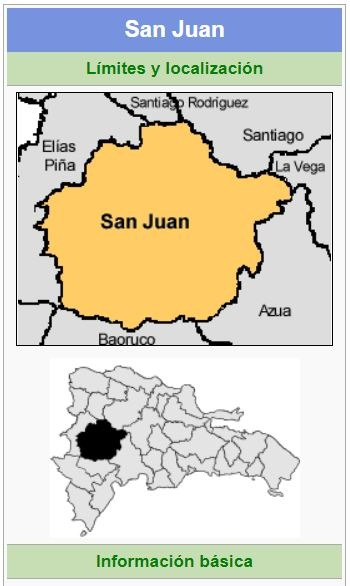 localizacion de la provincia san juan