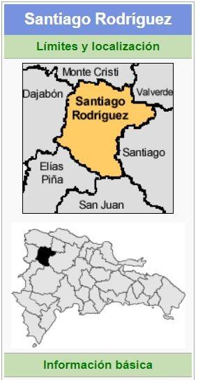 localizacion de la provincia santiago rodriguez