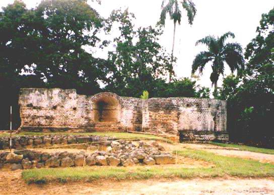 ruinas coloniales de La Vega Vieja