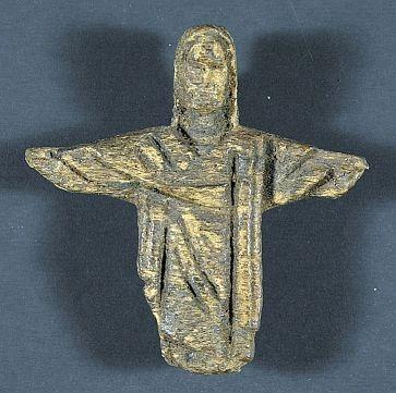 Fragmento de una figura de Cristo,